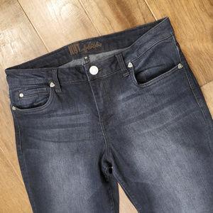 Kut from the Kloth | straight leg dark jeans